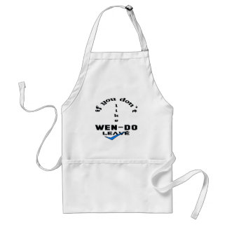 If you don't like Wen-Do Leave Adult Apron