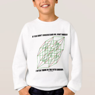 If You Don't Understand Don't Worry 5th Dimension Sweatshirt