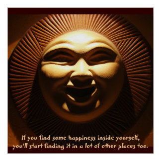 """""""If you find some happiness.."""" Inspiring Print Print"""