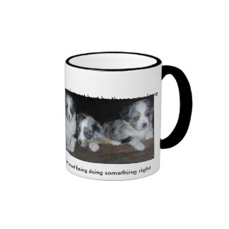 If you get hurt by those you love ringer mug
