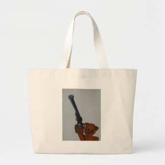 If you go down to the woods today ... large tote bag