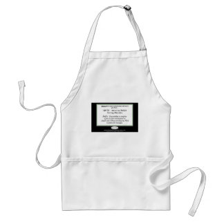 If you have Attention Deficit Texting Disorder... Adult Apron