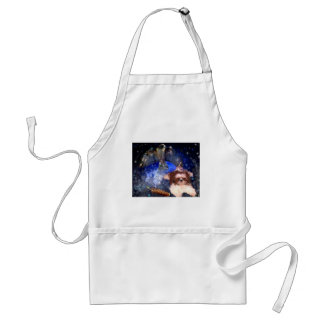 If you hear voices _PAINTING.jpg Adult Apron
