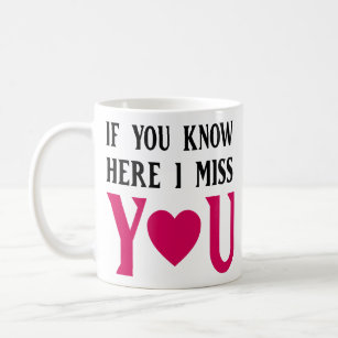 Missing You Quotes Coffee Travel Mugs Zazzle