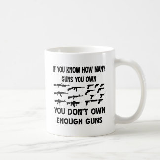 If You Know How Many Guns You Own You Don't Own Coffee Mug