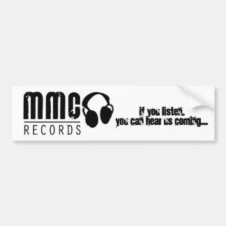 if you listen,you can hear us... bumper sticker