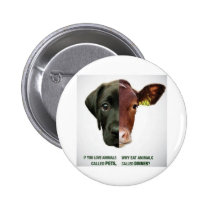 If You Love Animals Called Pets... Button