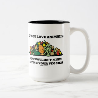 If You Love Animals You Wouldn't Mind Eating Your Two-Tone Coffee Mug