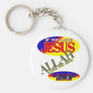 If You Love Jesus.... Key Chains