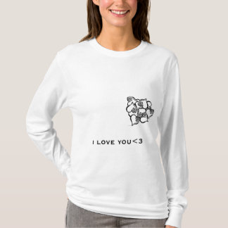 if you love someone let them know T-Shirt