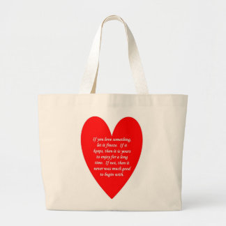 if-you-love-something-let-it-freeze large tote bag