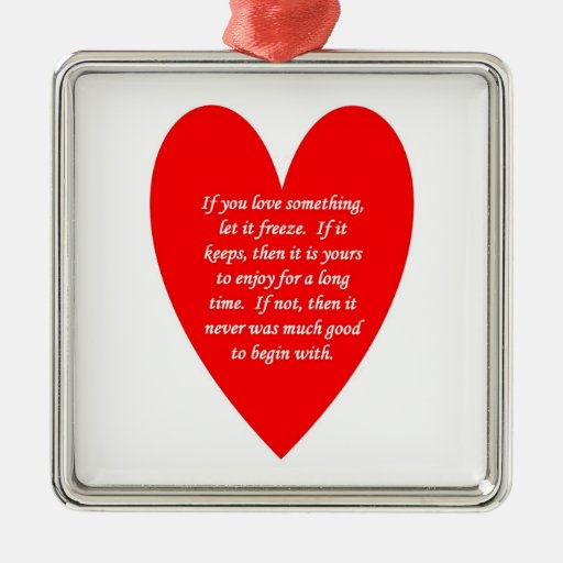 if-you-love-something-let-it-freeze christmas tree ornament