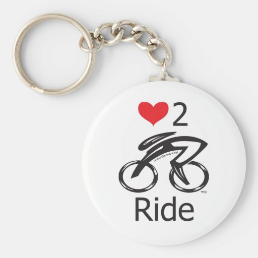 IF YOU LOVE TO  RIDE !!!! Let the world !!!!!!! Basic Round Button Keychain