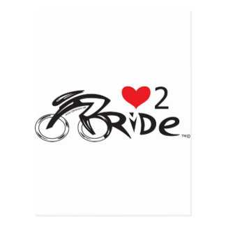 IF YOU LOVE TO  RIDE !!!! Let the world !!!!!!! Postcard