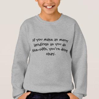 If you make landings - Senior citizens Sweatshirt