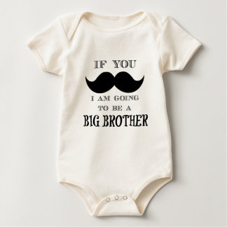 If you must ask, I am going to be a big brother Baby Bodysuit