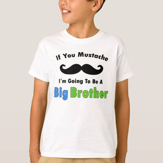 Get Big Brother With Mustache PNG