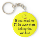 window licker, licking windows, silly, funny, gift