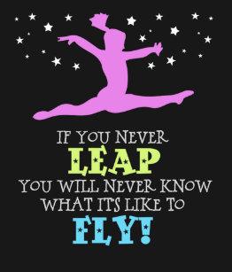 Inspirational Gymnastics Quotes Gymnastics Quote Gifts on Zazzle Inspirational Gymnastics Quotes