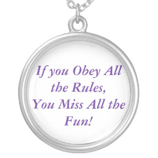 If You Obey Necklace