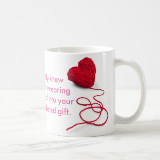 If you only knew how much swearing was stitched in coffee mug