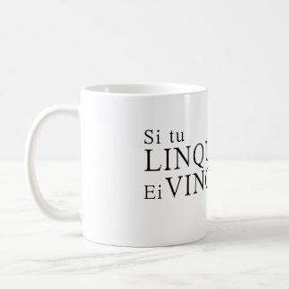 If you quit, they win coffee mug