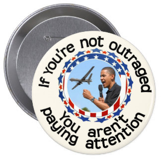 If you re not outraged button