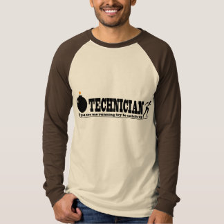 If You See Me Running ... Funny Bomb Technician Tee Shirt