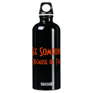 If You See Someone Crying Ask.. Funny Water Bottle