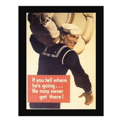 If You Tell World War 2 Flyer
