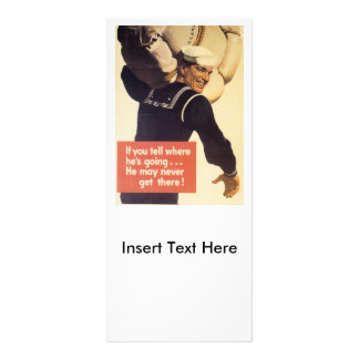 If You Tell World War 2 Rack Card