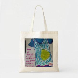 If you think…. a light flax burn tote bag