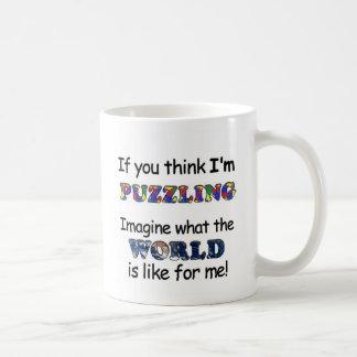 If You Think I'm Puzzling Coffee Mug