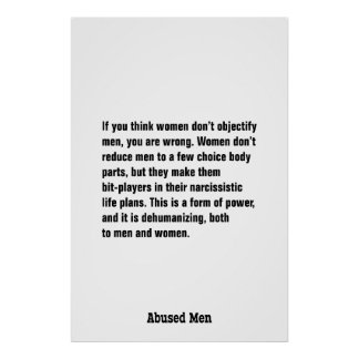 If You Think Women Don't Objectify Men … Poster