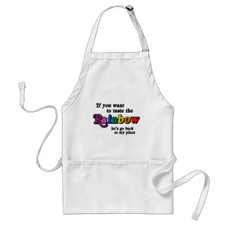 If you want to taste the rainbow apron