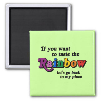 If you want to taste the rainbow fridge magnets