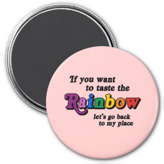 If you want to taste the rainbow refrigerator magnets