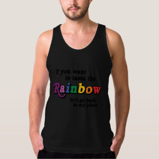 If you want to taste the rainbow tank top