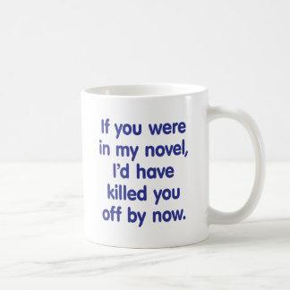 If you were in my novel coffee mug