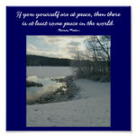 If you yourself are at peace,...Poster Poster