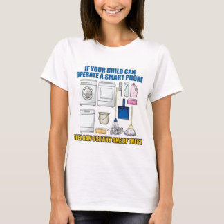 If your child can operate an iPhone... T-Shirt