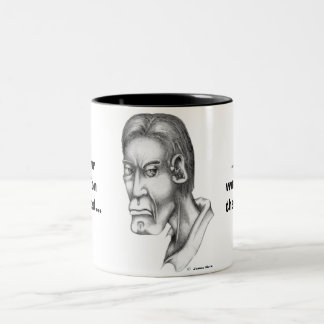 If your Opinion Counted... Two-Tone Coffee Mug