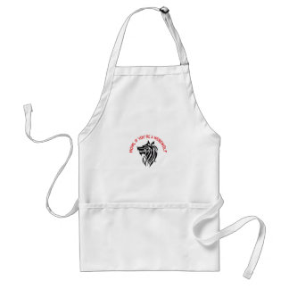IF YOURE A WEREWOLF APRON