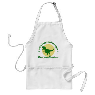 If youre happy and you know it adult apron