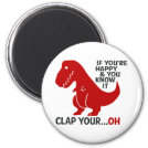If you're happy and you know it clap your ...oh magnet