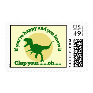 If youre happy and you know it postage