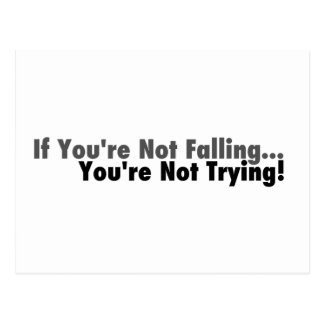 If You're Not Falling... Post Card