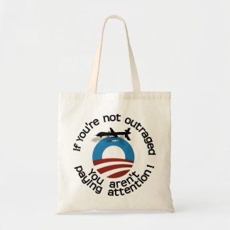 If you're not outraged... tote bag