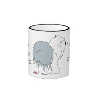 IF YOU'RE NOT THE LEAD DOG Ceramic Mug