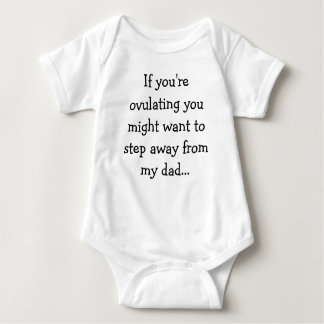If you're ovulating you might want to step away... baby bodysuit